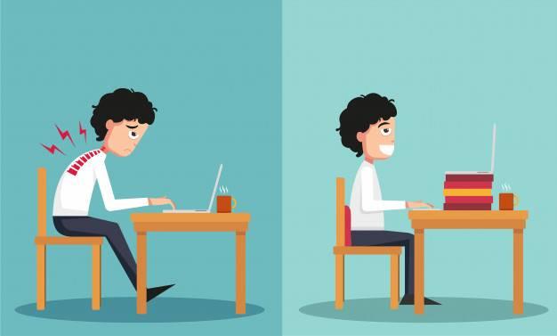 Yanlış oturmanın zararları