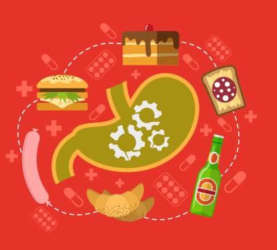 Beslenmede Mide Ülserinizi Düşünün