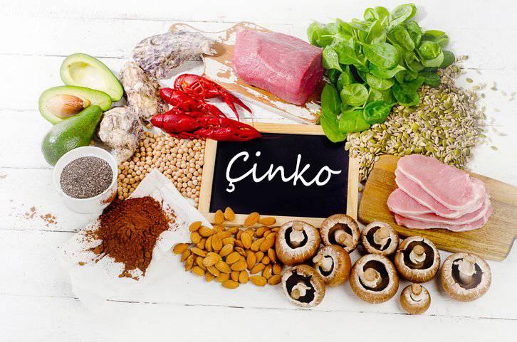 Bağışıklık Güçlendiren Vitaminler, Mineraller, Besinler, Çaylar, Çorbalar Ve Takviyeler Çinko