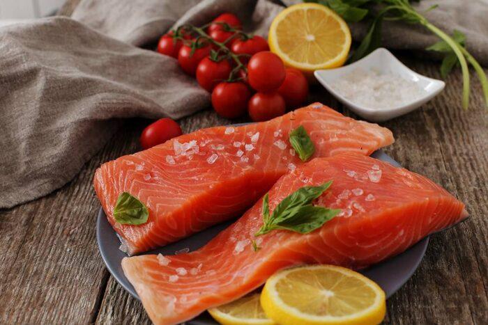Pratik Buharda Somon Balığı