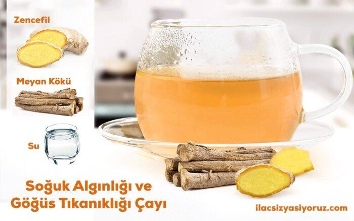 Soğuk Algınlığı Ve Göğüs Tıkanıklığı Çayı
