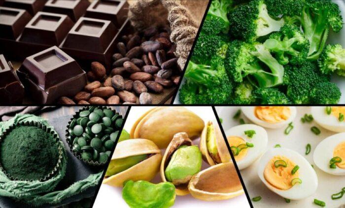 Demir İçeren Gıdalar
