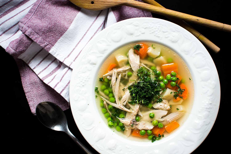 4 Kişilik Sebzeli Çiftlik Çorbası