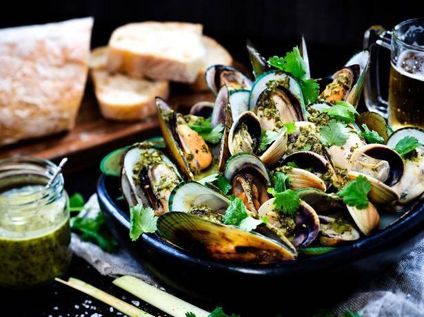 Demir İçeren Gıdalar Kabuklu Deniz Ürünleri